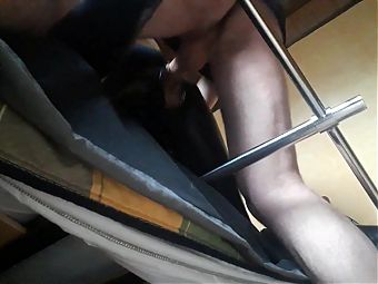 Laura XXX amateur model 2021, tied to a machine and fucked