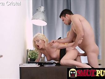 SmutPuppet - Small Tits Blonde Teens Making Love Compilation