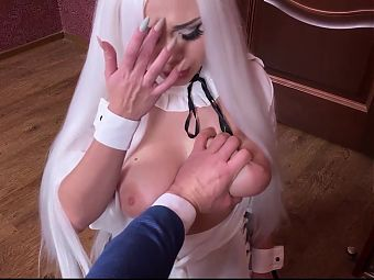 KITTY WAITER BROUGHT ME COLD TEA and I FUCKED HER BIG ASS 2