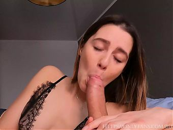 Pov Hottest Blowjob With Swallowing Massive Load. 4K