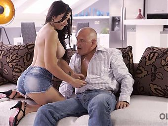 OLD4K. Skilled old man XXX busty f in various positions