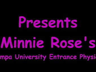 Minnie Rose Gets Gyno Exam By Doctor Tampa 2 Start New University